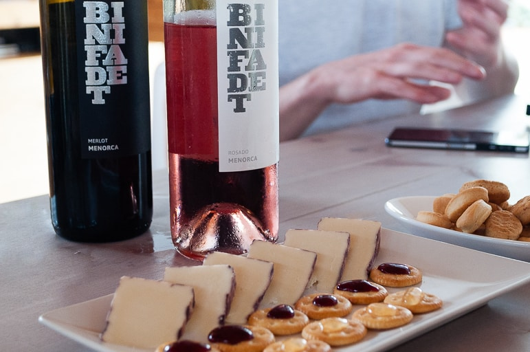 Things to do in Menorca - don't miss a tasting at Binifadet