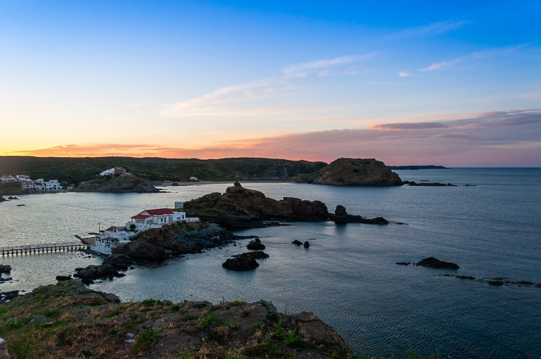 Things to do in Menorca - don't miss the sunset at Cap Roig