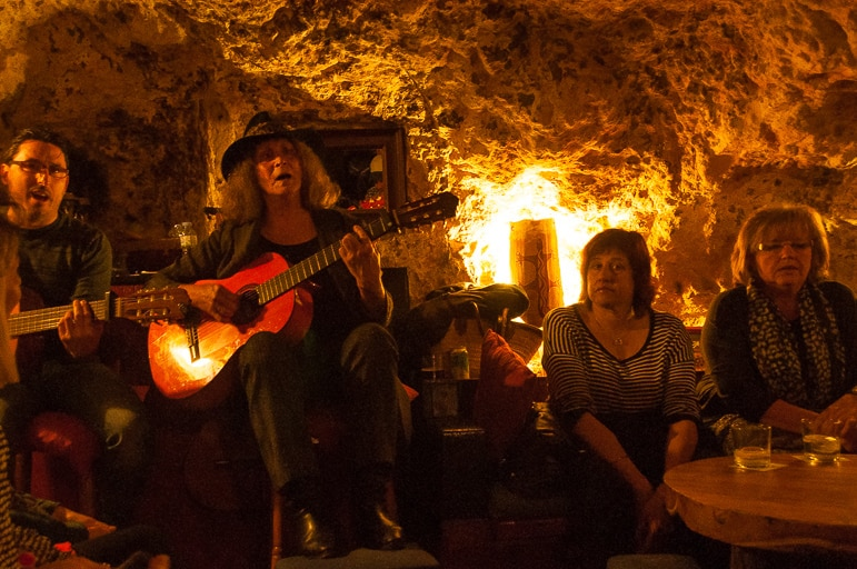 Things to do in Menorca - sample Menorquí music in a cave bar