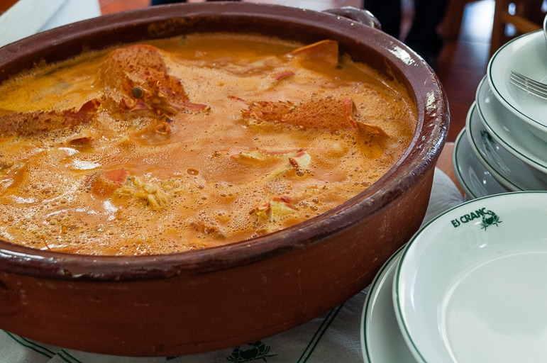 Things to do in Menorca - try caldereta or lobster stew