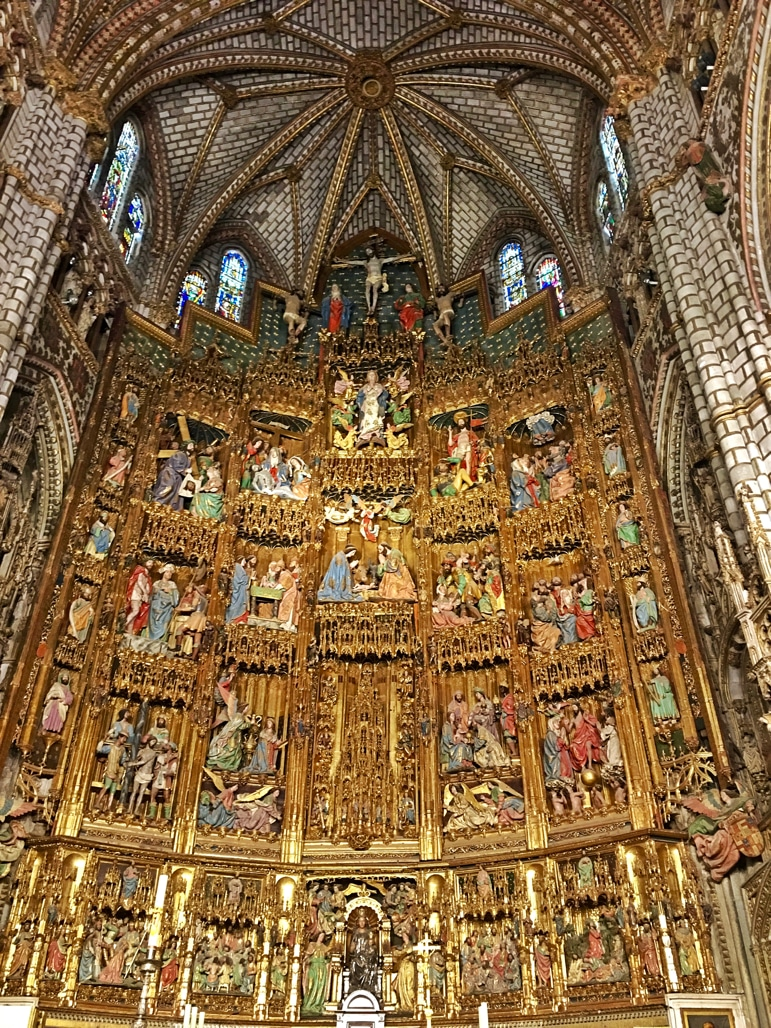 Things to do in Toledo - the cathedral's altar