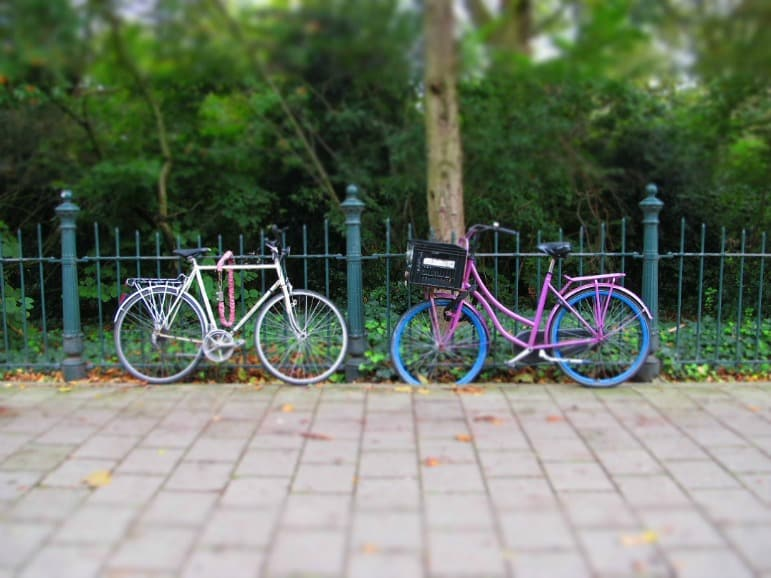 Affordable Luxury in London - free bikes