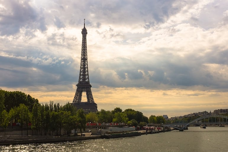 Landmarks around the world - the City of Light offers up numerous places to snap pics of the Eiffel Tower