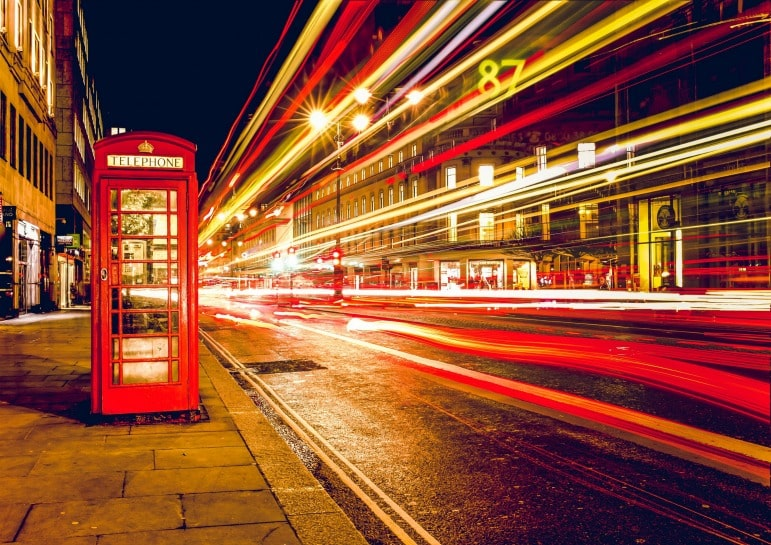 Affordable Luxury in London - London phone box