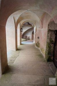 Archways at the Burg Rappottenstein