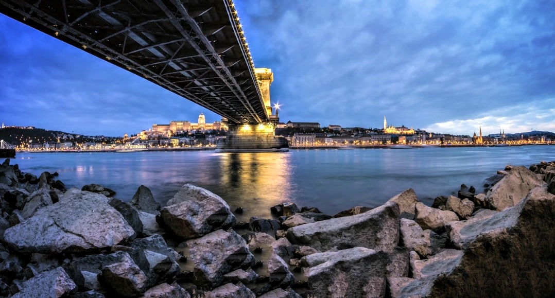 Bridge of the River Danube Budapest