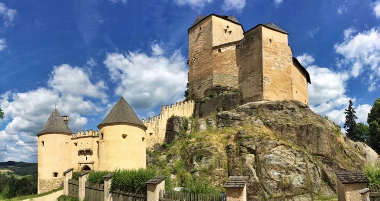 Burg Rapporttenstein in Waldviertel, Lower Austria