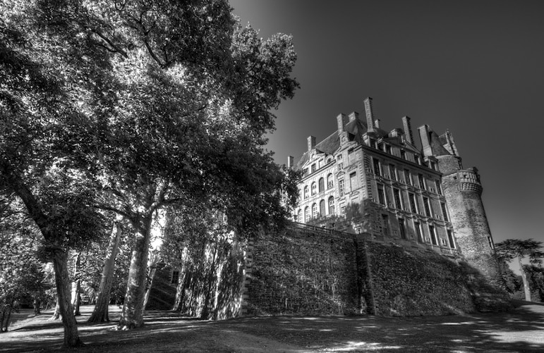 Chateau de Brissac was the scene of a gruesome murder and ghostly sightings | Pic @Iain G