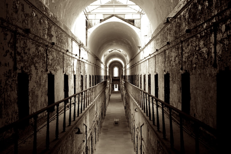 Eastern State Penitentiary is an abandoned prison where apparitions can be heard cackling as well as the clinking of prison doors | Pic- Sakeeb Sabakka