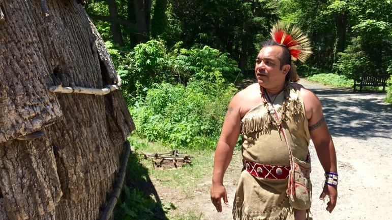 Learning native American history and enduring skills at Plimoth Plantation