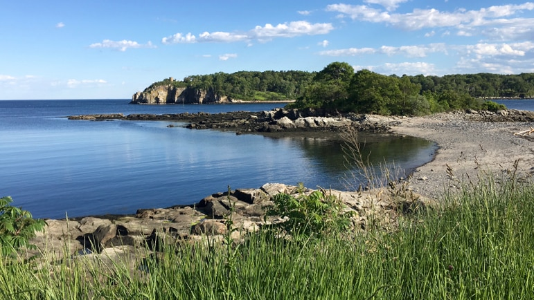 Coastal views of Peaks Island