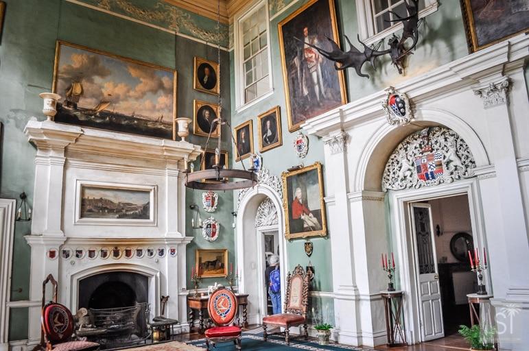 Inside Beaulieu House