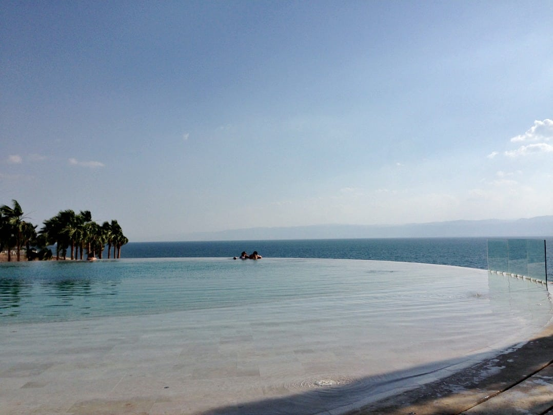 Jordan - Infinity pool at the Kemipinski Ishtar, The Dead Sea