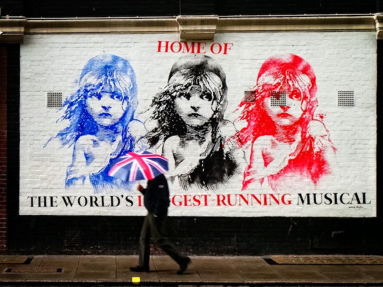 London travel tips - hit Theatreland with reduced price tickets