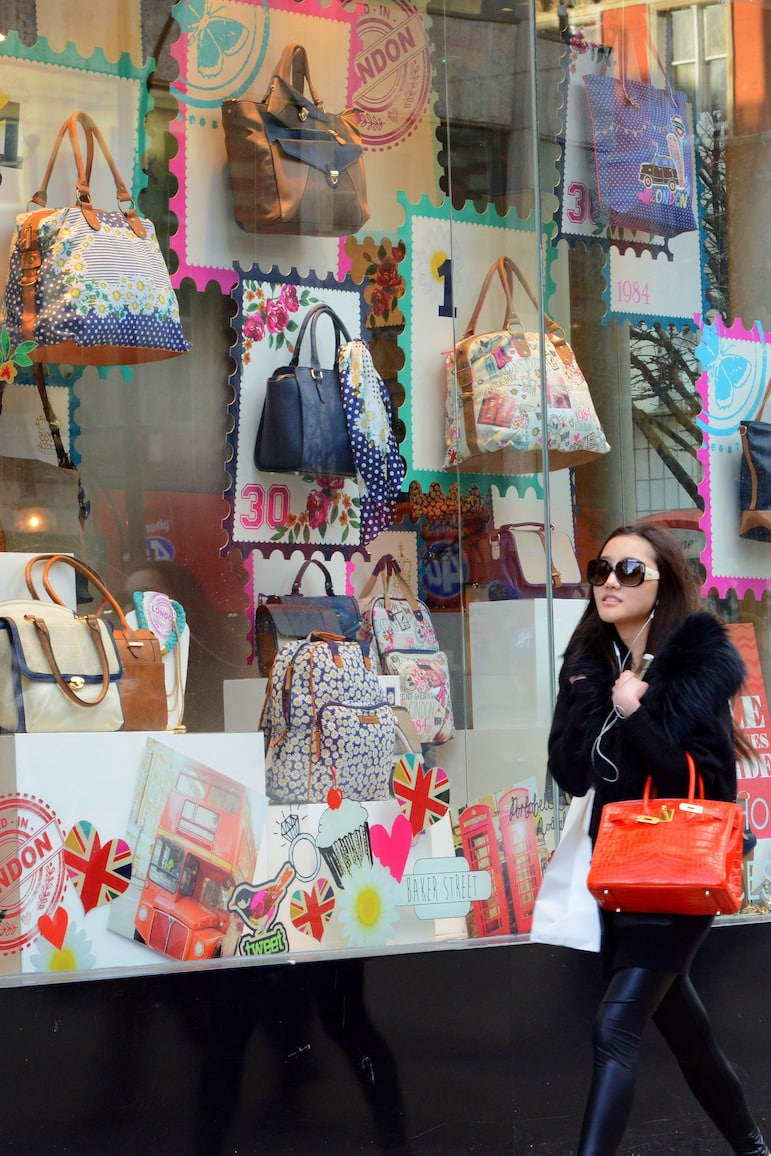 London travel tips - shopping in London | pic Leigh Harries