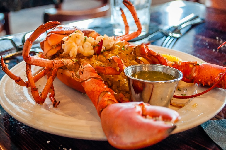 Make for the New England coast for lobster every way