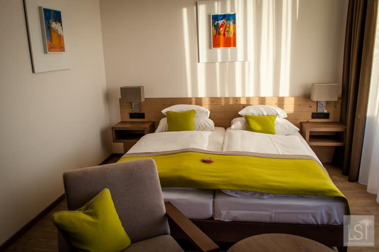 Our modern room at Hotel Schwarz Alm Zwettl, in Wadviertel, Lower Austria
