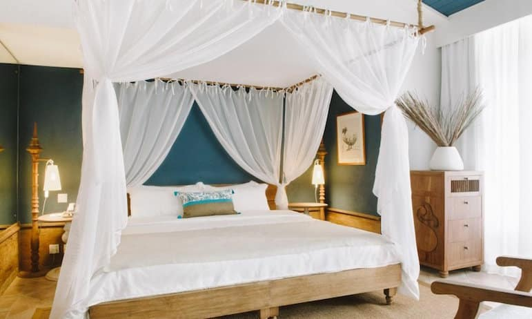 The light and airy suite at Paradise Cove Boutique Hotel
