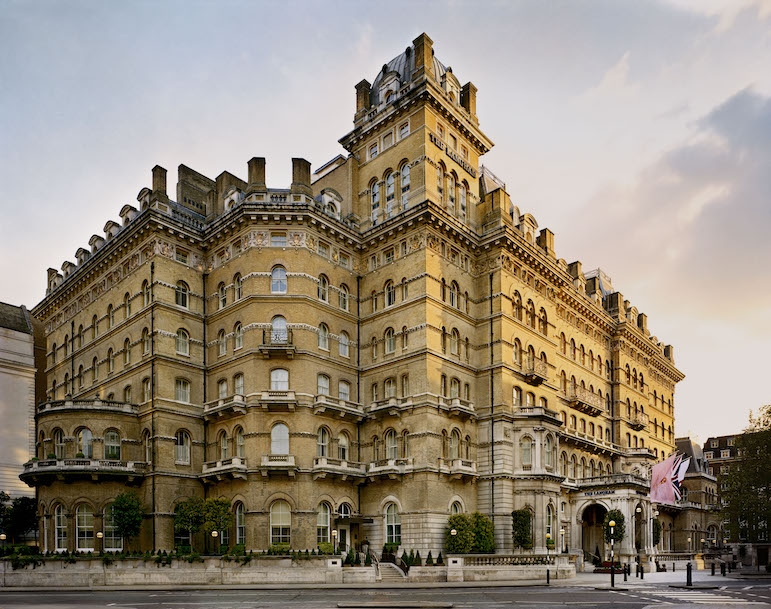 Places to go for halloween - the Langham in London
