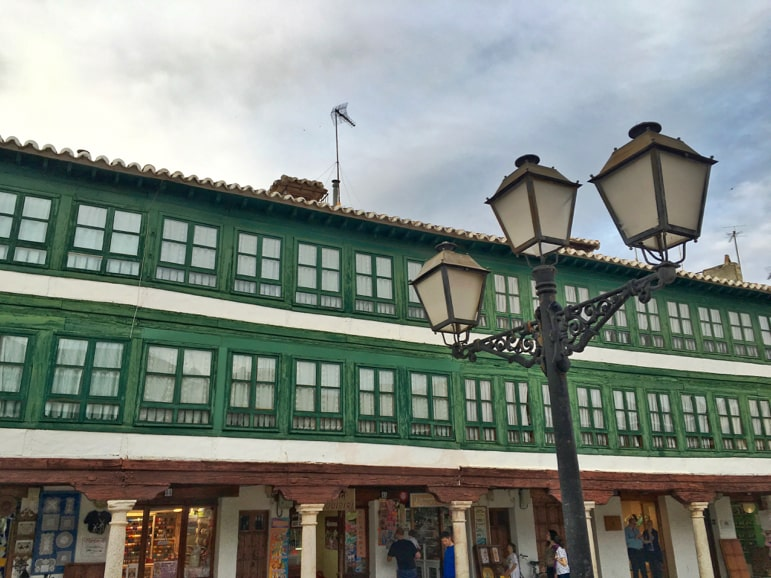 Plaza Mayor in Almagro - on the trail of Cervantes' Don Quixote de La Mancha