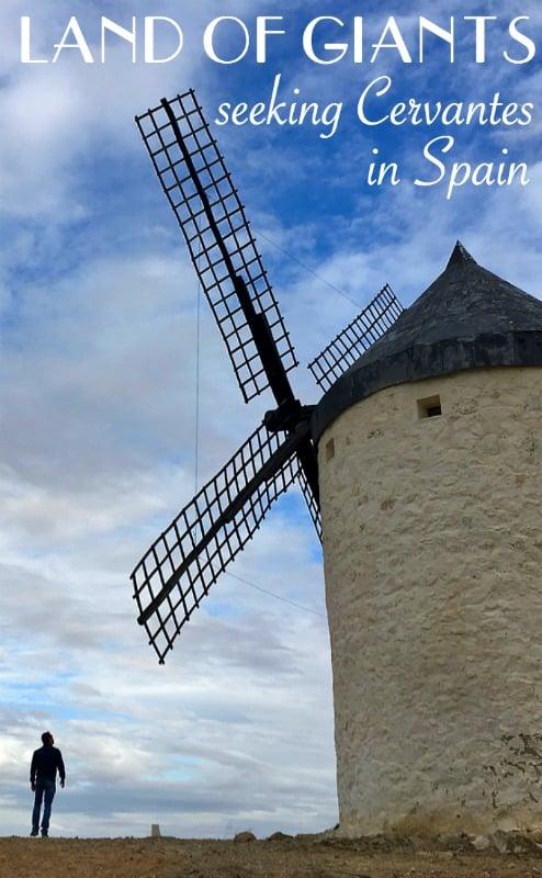 Seeking Cervantes' Don Quixote de La Mancha, in the under explored region of Castilla La Mancha in Spain