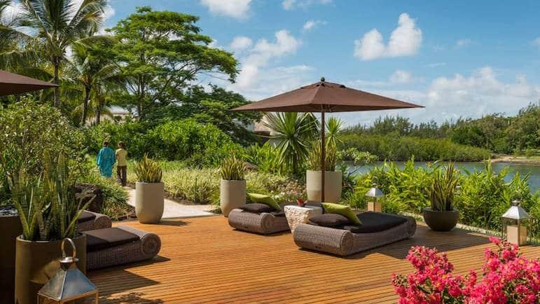 The spa at Four Seasons at Anahita