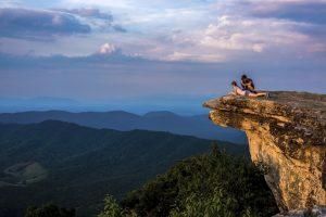 The Blue Ridge Mountains, Virginia