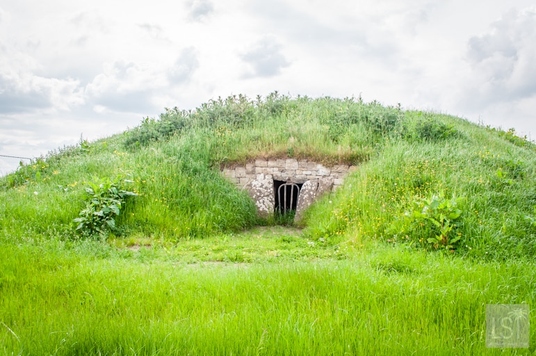 The Mound of the Hostages on the Hill of Tara