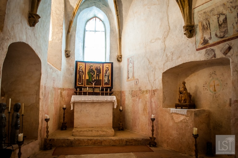 The chapel at Burg Rappottenstein