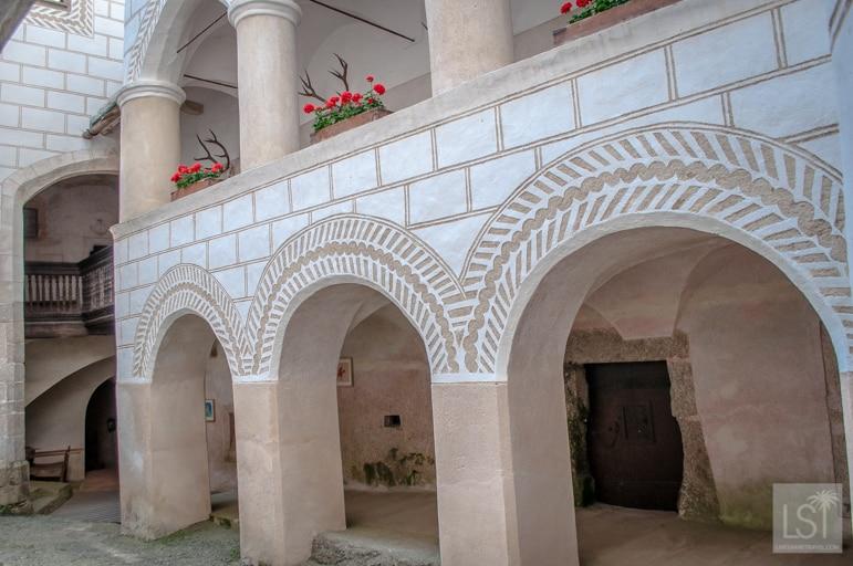 The wonderfully preserved Burg Rappottenstein