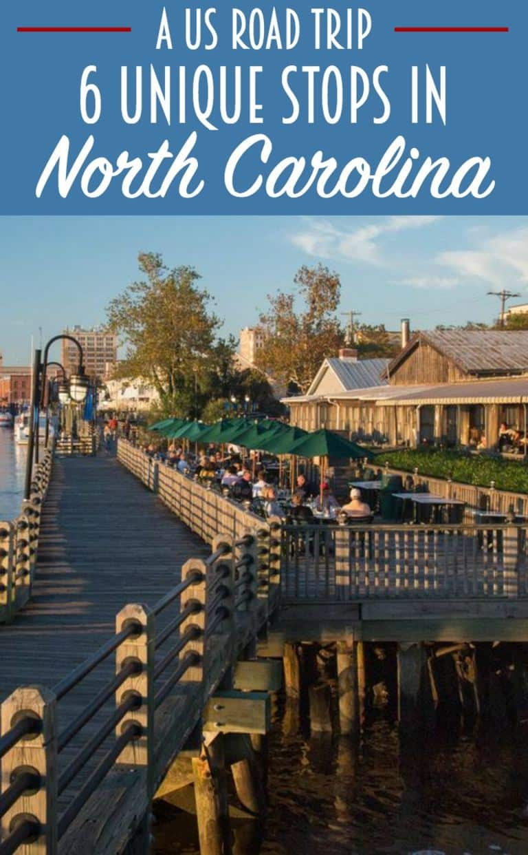 6 Unique stops on a North Carolina road trip