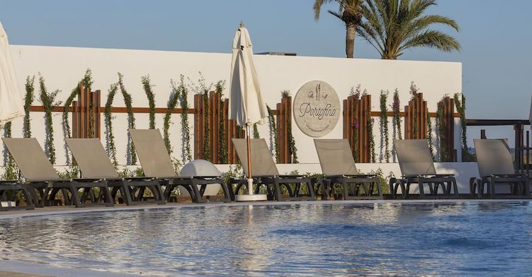 All inclusive holidays in Europe - Grand Palladium Palace Ibiza Resort & Spa Portofino restaurant exterior