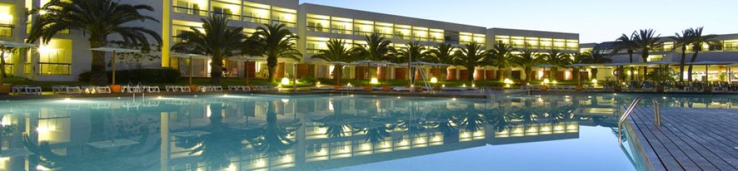 All inclusive holidays in Europe - Grand Palladium Palace Ibiza Resort & Spa pool at night