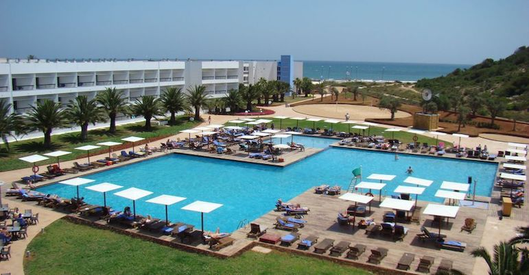 All inclusive holidays in Europe - Grand Palladium Palace Ibiza pool