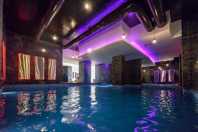 Indoor pool at Balkan Jewel Resort