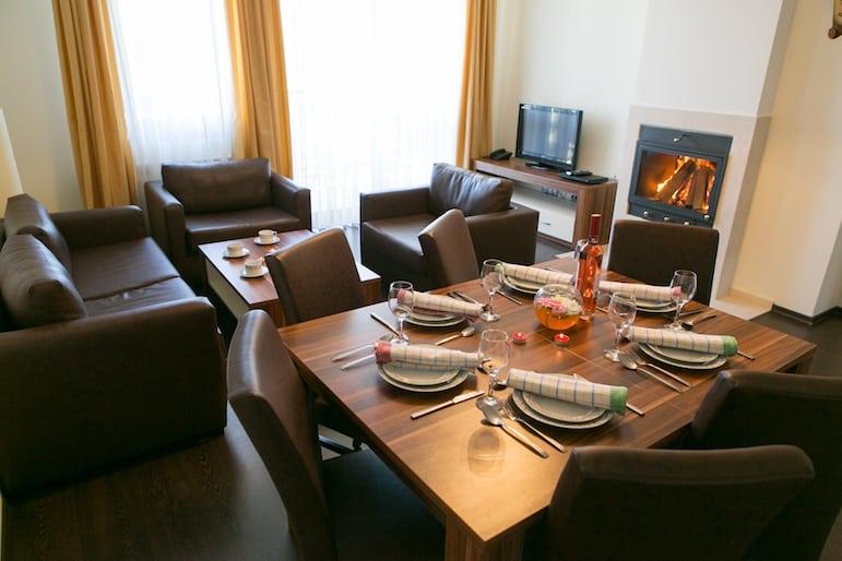 Lounge at Balkan Jewel Resort
