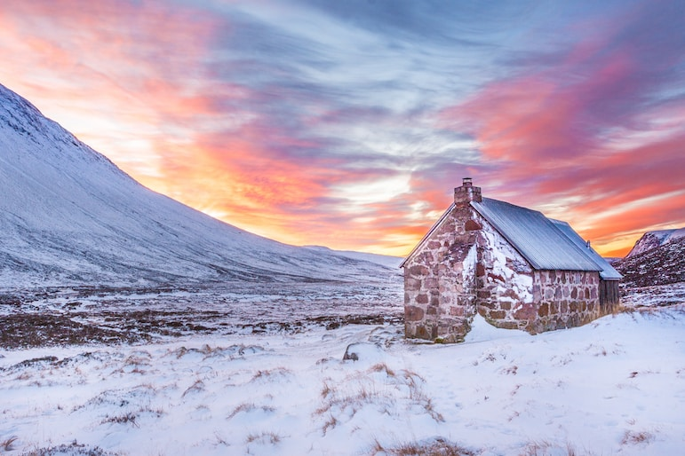 Make for Scotland's countryside this winter