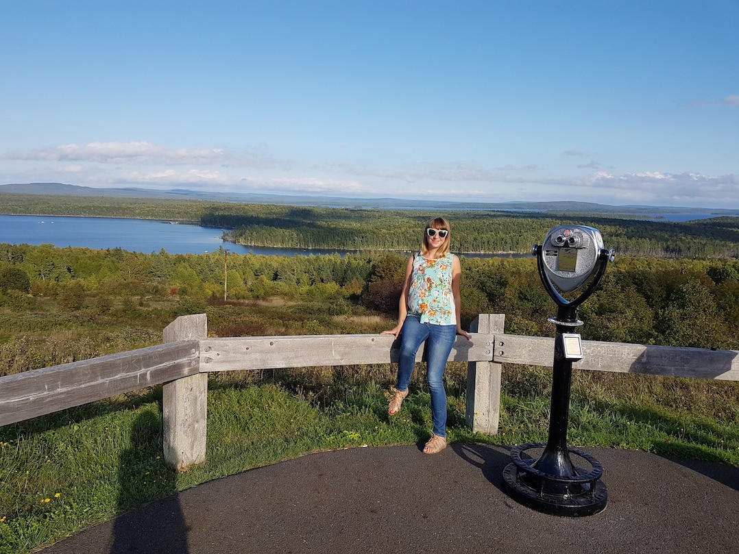 Places to go in Maine - see the Million Dollar View