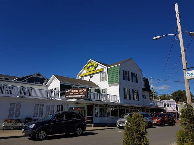 Places to go in Maine - The Goldenrod in York Beach