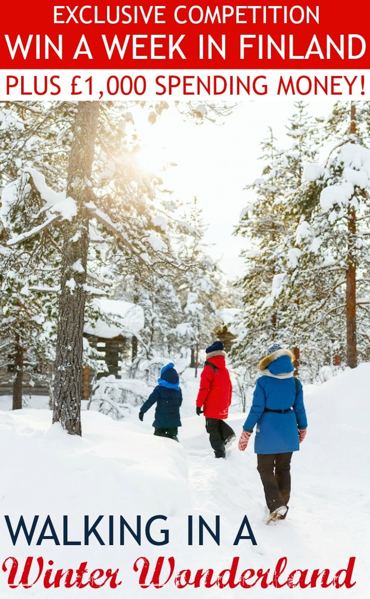 Win a week in Finland