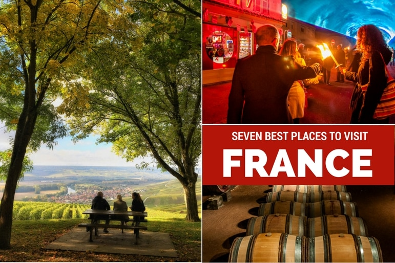 Seven best places to visit from a year of travel: France