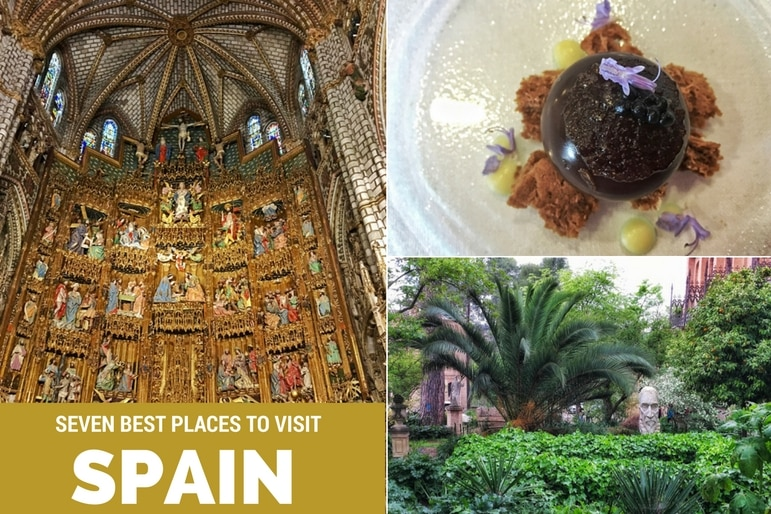 Seven best places to visit from a year of travel: Spain