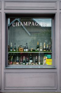 Champagne is everywhere in Hautvillers