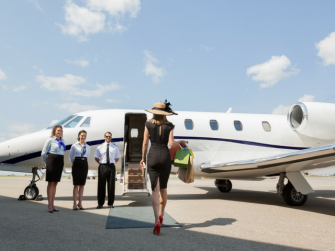 How to charter a private plane
