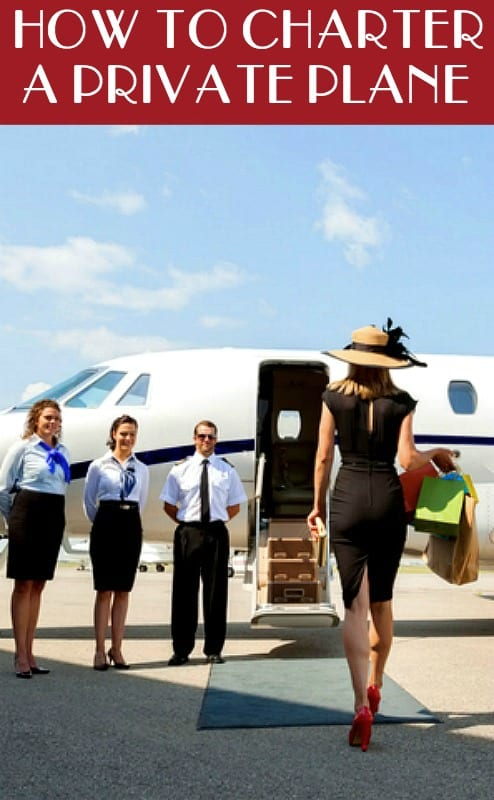 How to travel - how to charter a private plane