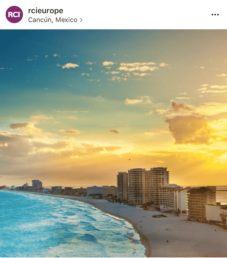 Join RCI in Cancun - and also on Instagram