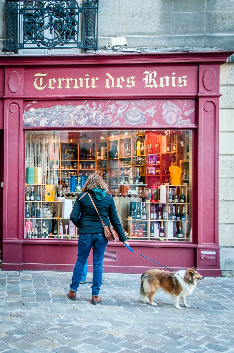 Terroir des Rois, Reims, a small shop that would double as an epicurean's treasure trove