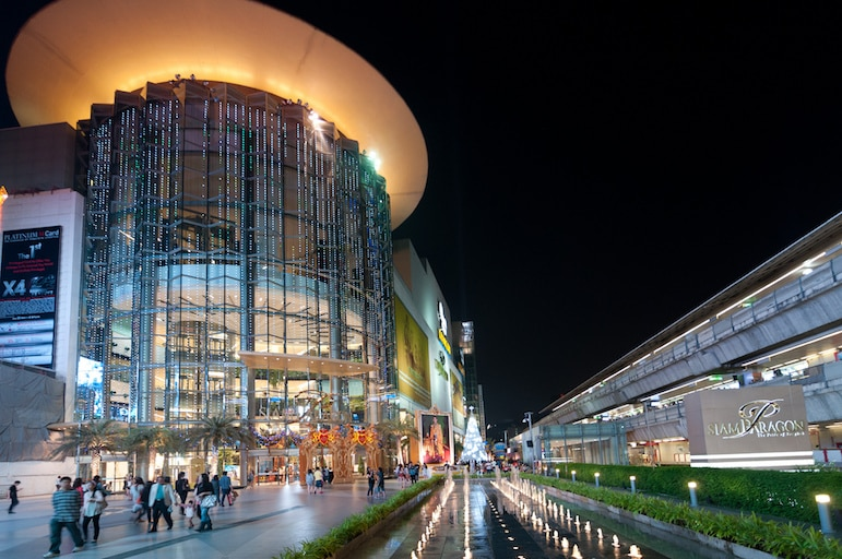 Bangkok travel tips - Siam Paragon should be your first stop for luxury bargains | Pic: Mark Fischer