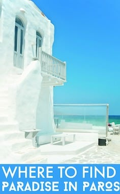 Where to find paradise in Paros