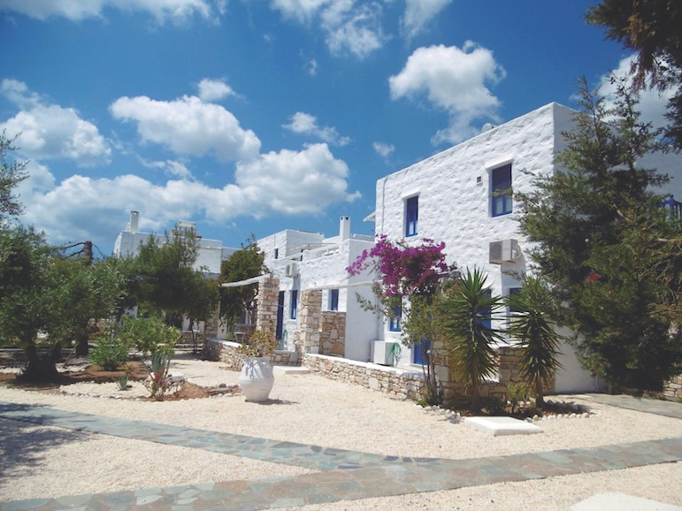 Win a one-week stay at Anezina Village in Paros